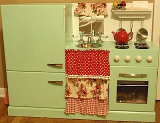 Homemade kitchen set...so awesome