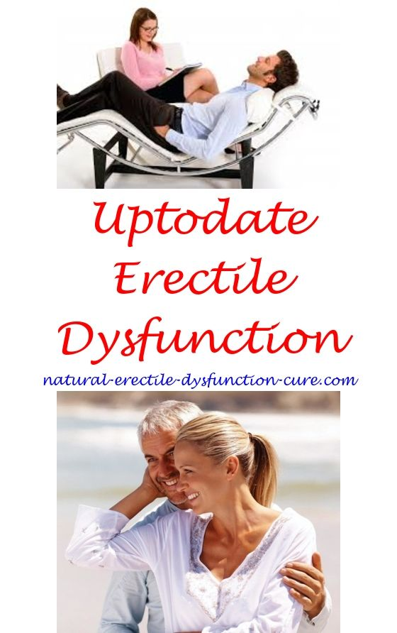 sudden erectile dysfunction cure