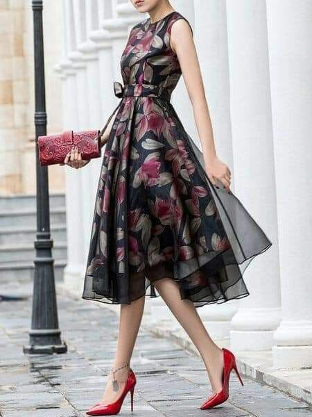 Light Fabric Elegant Summer Dresses outfit fashion casualoutfit fashiontrends