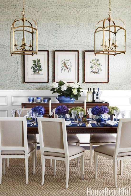 The 25+ best Dining room wallpaper ideas on Pinterest   Room ...