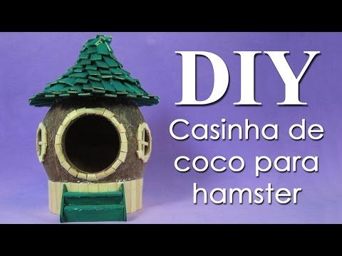 DIY Hamster House! - YouTube