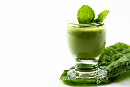 Leafy green juices