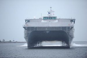Navy Adds High Speed Troop Carrier to Fleet