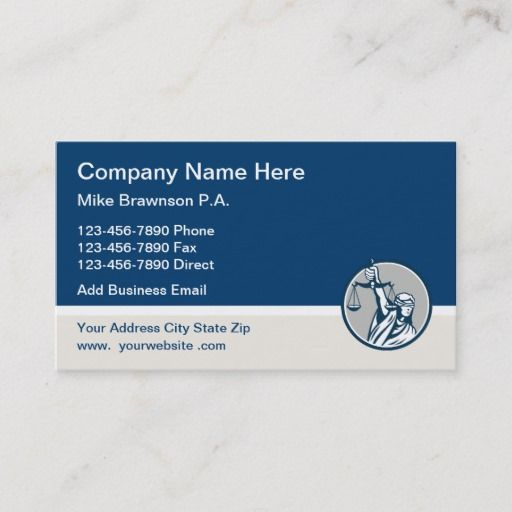 Pin On Attorney Business Cards