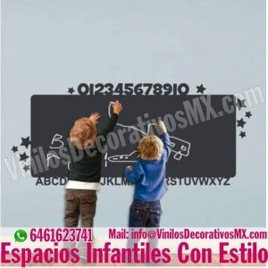 vinilos-infantiles-pizarras  http://comoorganizarlacasa.com/vinilos-decorativos-infantiles/ Vinilos Decorativos Infantiles #vinilosdecorativos #IdeasParaOrganizar #IdeasDeDecoracion