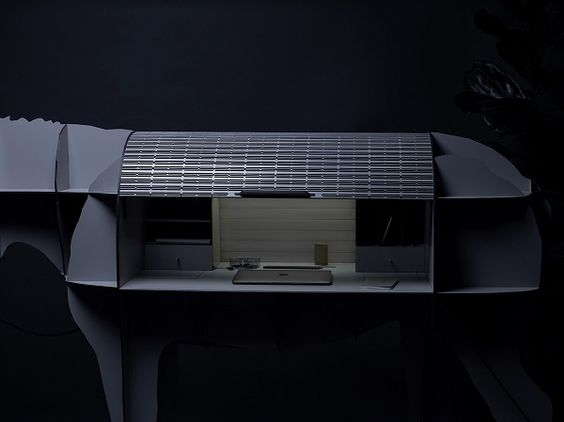 MATURIN Donkey connected desk by ibride. #design #interior #animal #furniture #decoration #desk #donkey #ibride #home #bureau