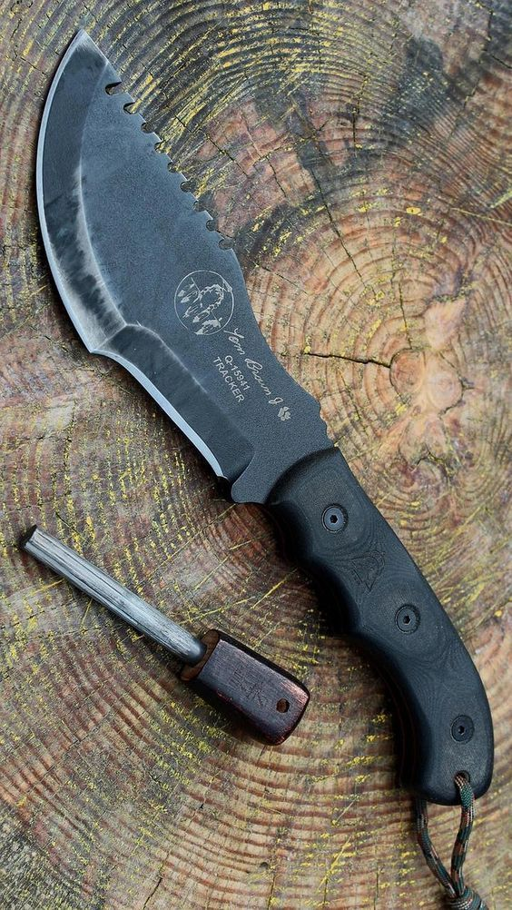 Tops Knives Tom Brown Tracker Blade Knife Blade Thistookmymoney Survivalknife Tops Knives Knife Fixed Blade Knife