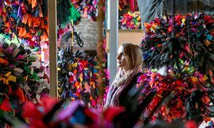 Phyllida Barlow's GIG, on display at Hauser and Wirth in Bruton, Somerset.