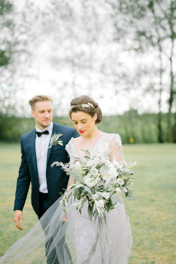 Elegant and Natural Fine Art Weddings Inspiration | Love My Dress® UK Wedding Blog