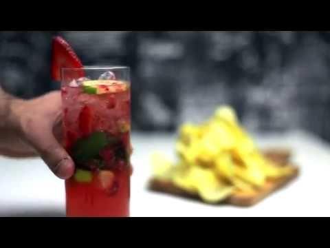 موهيتو الفراولة المنعش مشروبات الصيف Strawberry Mojito Youtube Youtube