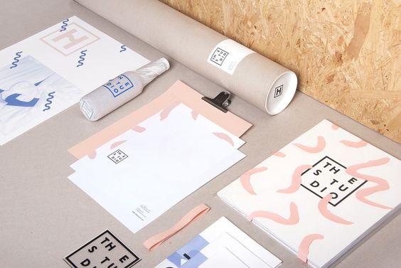 The Studio branding in Branding