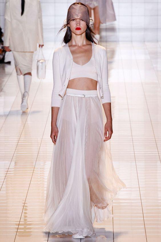 Rochas Spring 2013 Ready-to-Wear Fashion Show - Zoe Colivas (Elite)