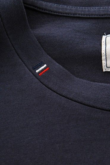 Moncler Logo Print Crew Neck T-Shirt » Men's Designer Clothing & Brands