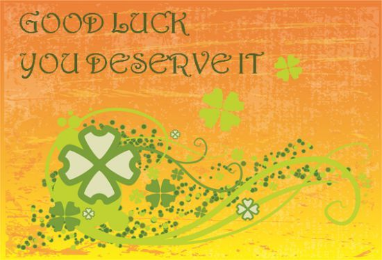 Good Luck Card Template 13 Templates That Bring Good Luck Charm Template Sumo Good Luck Cards Card Template Cards