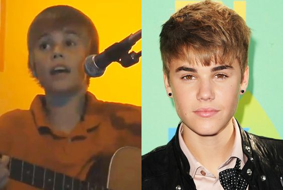 he was the cute little boy who grew up to be a hott and sexy singer today!!!<3