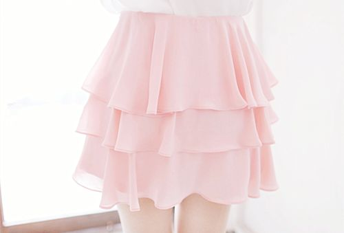 Imagem de pink, kfashion, and skirt