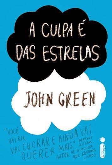 Um dos maiores sucesso de John Green! Com os personagens Hazel Grace e Augustus Waters.