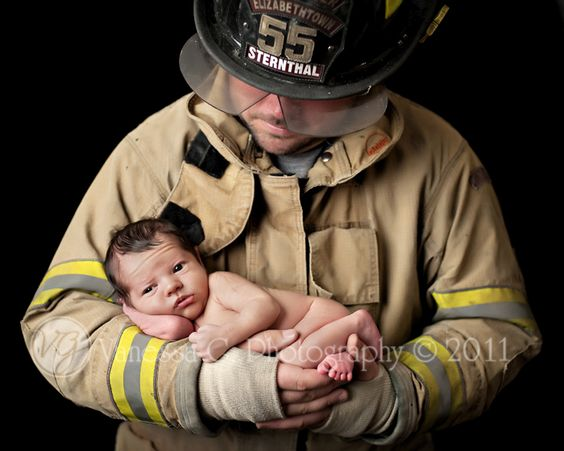 firefighter baby pictures | ... Baby Photographer and Senior Pictures – Fayetteville and Wilmington