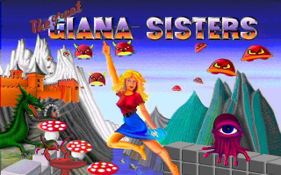The Great Giana Sisters (Commodore Amiga)