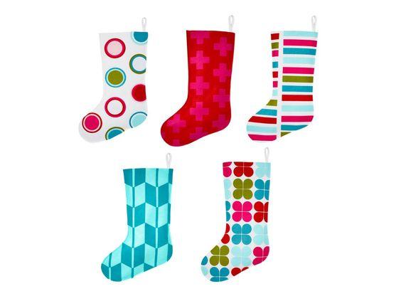 DIY Felt Stockings | Holiday Decorating and Entertaining Ideas & How-Tos | HGTV