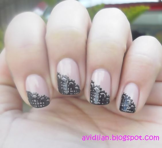 Freehand lace!