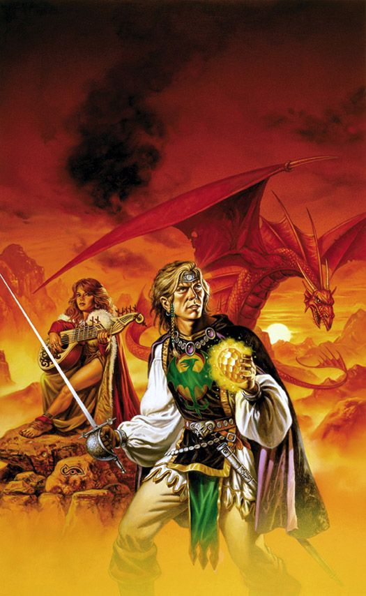 Wyverns Spur by Clyde Caldwell
