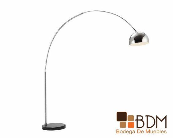 Lámpara de pie / iluminación para salas / Estilo contemporáneo / Interiorismo / Diseño de interiores