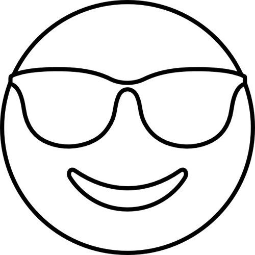 Dibujos De Emojis Para Colorear Emojis Dibujos Emoji