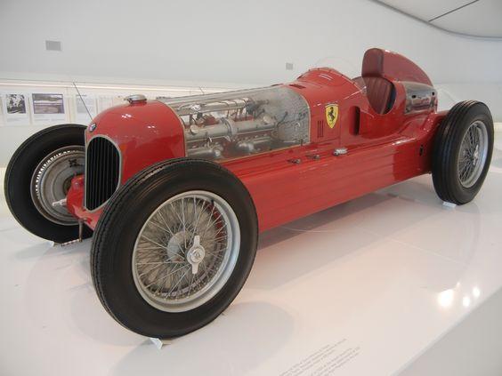 At the Enzo Ferrari Museum, Modena, Italy