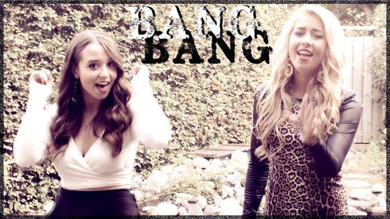 Bang Bang - Ariana Grande, Jessie J, Nicki Minaj - Cover by Ali Brustofs...