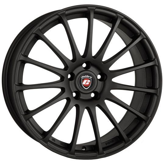 17 CALIBRE RAPIDE MATTE BLACK 7J 4 stud 25 offset  CALIBRE RAPIDE alloy wheels in MATTE BLACK colour. Wheels are 4 stud fitment and 17 rim diameter.  https://alloywheels-shop.co.uk/17-calibre-rapide-matte-black-l77041