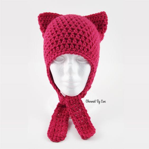 Free Schrodinger\'s Cat Hat Crochet Pattern | patti | Pinterest ...