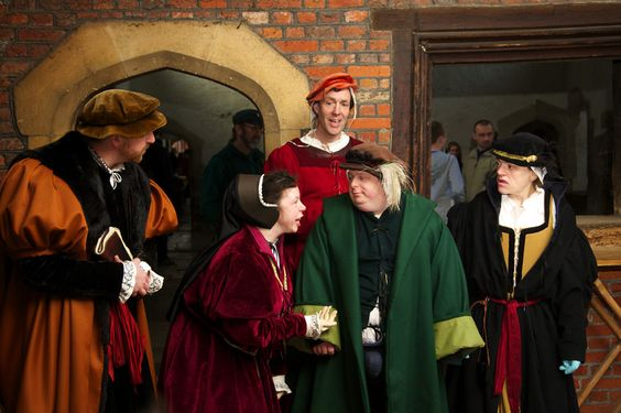 The Misfits Theatre Company perform 'All The King's Fools' at Hampton Court, a theatre piece exploring the relationship between learning disability and the Tudor Court.
