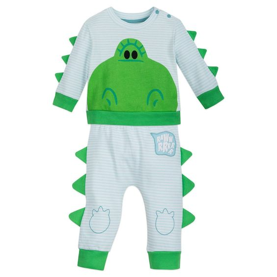 Rex Knit Shirt and Pants Set for Baby - Toy Story