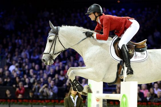 Penelope Leprevost attends the Gucci Paris Masters 2012 at Paris Nord Villepinte