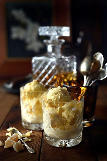 From The Kitchen: Whisky and Ginger Ice Cream