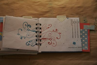 Instructions for making a journal or planner with junk mail envelopes!