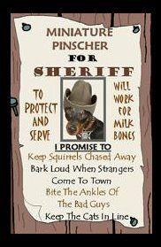 Tara is my little Sheriff