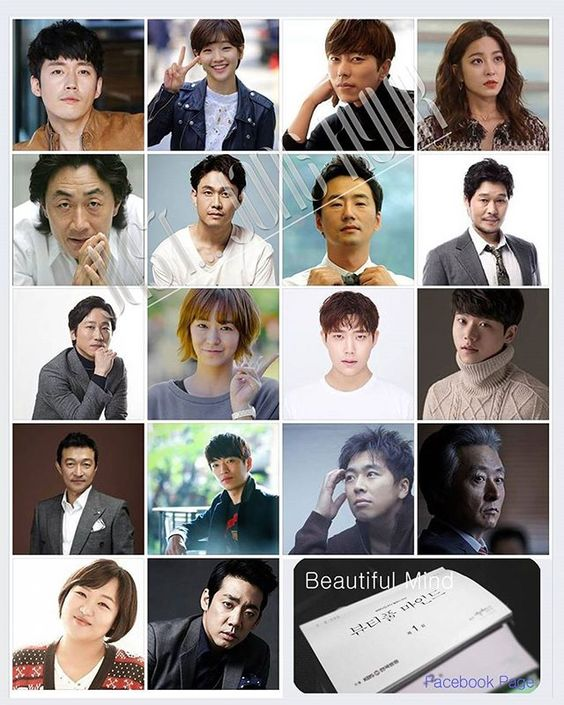 New drama <Beautiful Mind> Main Cast 5/26現 ↓https://goo.gl/WqmbG6 .