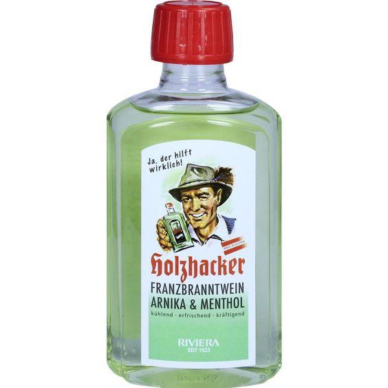 RIVIERA Holzhacker Franzbranntwein:   Packungsinhalt: 250 ml Franzbranntwein PZN: 09174285 Hersteller: Hager Pharma GmbH Preis: 6,80 EUR…