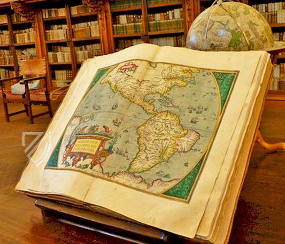 Facsimile: Atlas de Abraham Ortelius -Theatrum orbis Terrarum – Photos with courtesy of the publisher