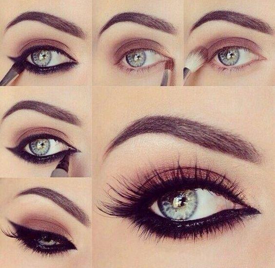 Maquiagem olhos: