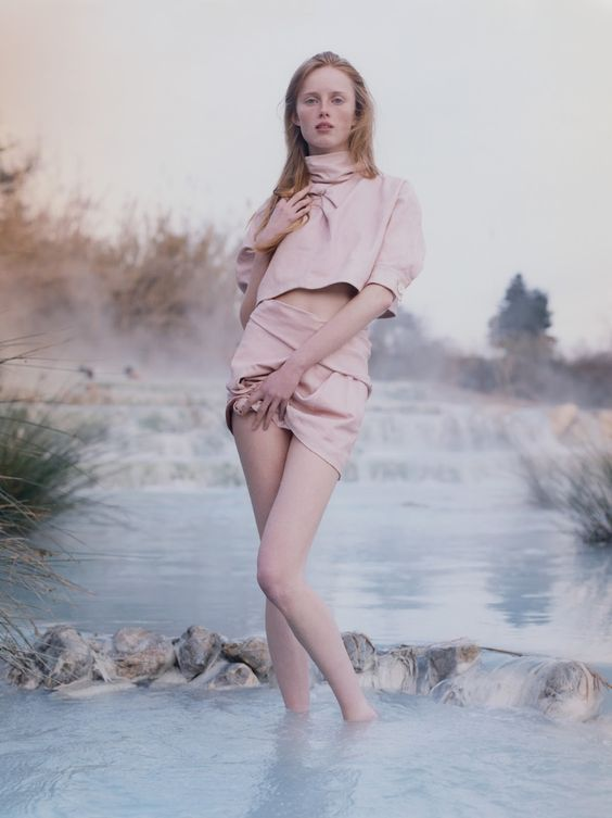 visual optimism; fashion editorials, shows, campaigns & more!: in the media galaxy, conservatives are from mars, liberals are from venus: rianne van rompaey by harley weir for document journal spring / summer 2015 #fashion #photography #editorial