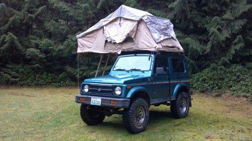 DiamondRax Rear-Opening Rooftop Tent Racks | Toyota Landcruiser FJ40 | Pinterest | Toyota Land cruiser and 4x4 & DiamondRax Rear-Opening Rooftop Tent Racks | Toyota Landcruiser ...