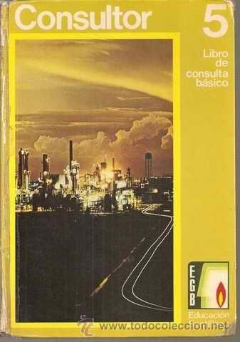 CONSULTOR 5º EGB - LIBRO DE CONSULTA BÁSICO NIVEL 5 - SANTILLANA 1971