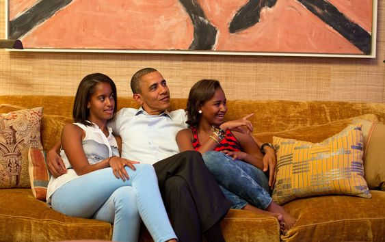 The Obama Family's Stylish Private World Inside the White House Photos | Architectural Digest