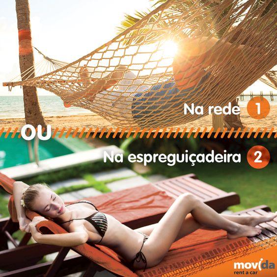 #Domingo é o conhecido como dia internacional da preguiça. Conte para nós como você prefere descansar! :P  #Preguiça #Domingão #Sossego #Descansar #MovidaRentACar #FDS