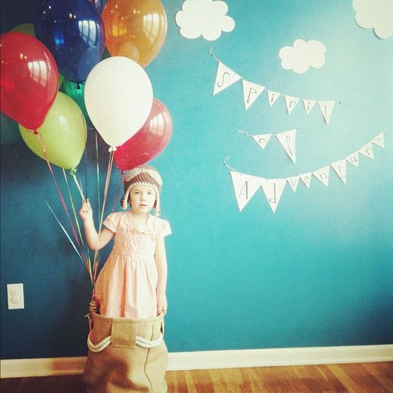 Photo for an UP themed birthday party.  #spiritofadventure