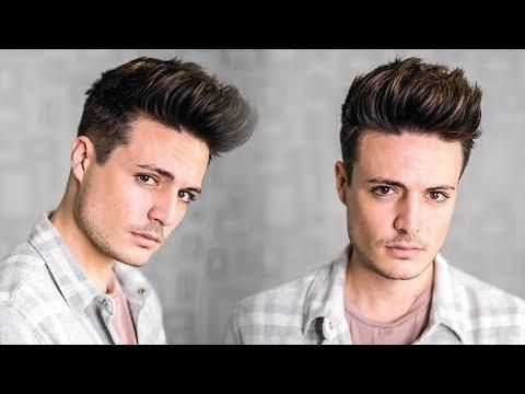 Super Easy Texture Quiff Hairstyle Tutorial 2018 Mens New