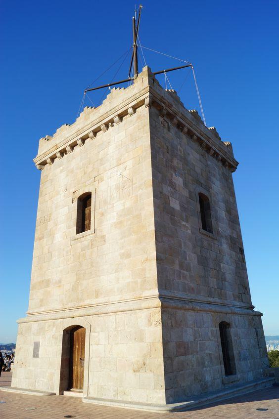 Tower @ Castell de Montjuïc, Barcelona